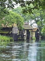 長野県 水車