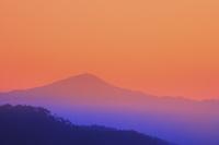 京都府 平成最後の正月に見る夜明けの比叡山