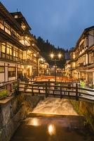 山形県 尾花沢市 銀山温泉