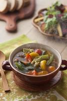 ベジブロスを使った野菜スープ