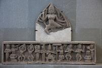 チャム彫刻博物館 ドゥガとアプサラ ダナン ベトナム