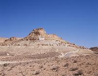 チュニジア タタウィン近郊 サハラ 小村