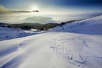 北海道 日の出の美幌峠と屈斜路湖 美幌町
