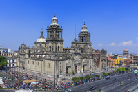 メキシコ メキシコ・シティ カテドラル/俯瞰