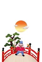 恵比寿様と太鼓橋