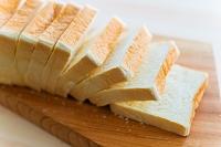 パン カットされた食パン三斤