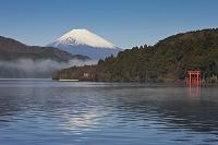神奈川県 芦ノ湖々畔より富士山