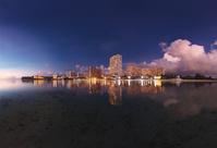 グアム タモンビーチの夜景