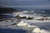 太地海岸の荒波