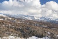 雲に覆われた南八ヶ岳
