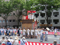 京都府 祇園祭巡行 太子山