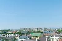北海道 郊外の住宅街