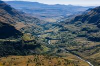 南アフリカ共和国 ドラケンスバーグ ディディマ峡谷