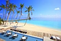 モルディブ 夏のビーチリゾート