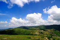 美ヶ原高原(武石峰から望む)