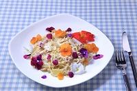 愛知県 食用花とパスタ