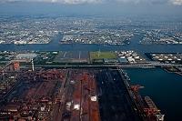 神奈川県 横浜市 京浜工業地帯扇島原料ヤード周辺