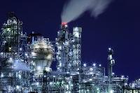 三重県 四日市の工場夜景