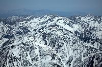 富山県 北アルプス(飛騨山脈)杓子岳 鑓ケ岳 唐松岳周辺