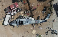 メキシコ 地震視察ヘリが墜落