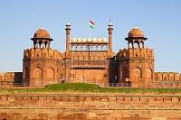 レッドフォートとインド国旗