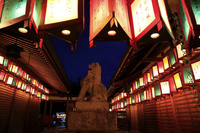 京都府 車折神社の万灯祭