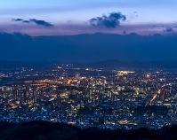 岩手県 盛岡市街 夜景