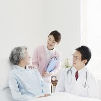 医師と看護師と患者