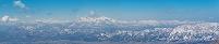 長野県 野沢温泉スキー場より妙高山方面を望む