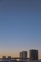 東京都 江東区 江東区有明から望む有明と晴海方面のビル群