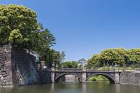 東京都 新緑の二重橋