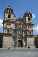 ペルー クスコ ラ・コンパニーア・デ・ヘスス教会