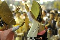 徳島県 阿波踊り 街角踊り