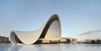 アゼルバイジャン ヘイダル・アリエフ文化センター