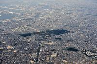 大阪府 空から見た百舌鳥古墳群