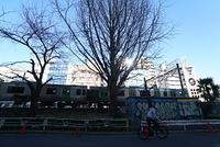 東京 恵比寿山手線のある風景
