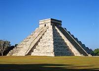 メキシコ チチェン・イツァの遺跡