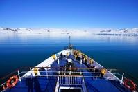 晴れた北極
