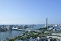 新潟県 新潟市の街並