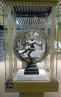インド ニューデリー 国立博物館 「舞踊の神ナタラージャ」の姿...