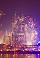 ドイツ 大晦日のケルン大聖堂
