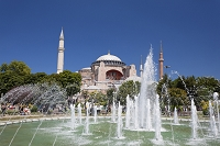 トルコ イスタンブール アヤソフィア博物館 噴水