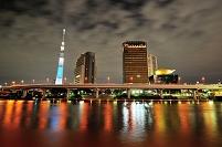 東京都 東京スカイツリー ライトアップ(粋)