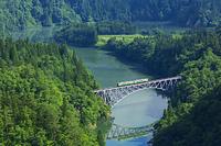 福島県 只見川第一橋梁