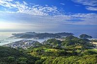 熊本県 天草市 桜木展望所からの展望