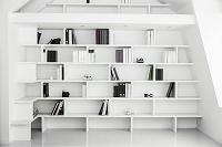 インテリア 白い本棚