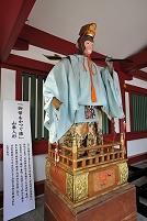 東京都 日枝神社の山車人形(御幣をかつぐ猿)