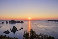 和歌山県 紀の松島の朝日