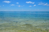 沖縄県 石垣島 明石の海