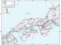 西日本 交通図